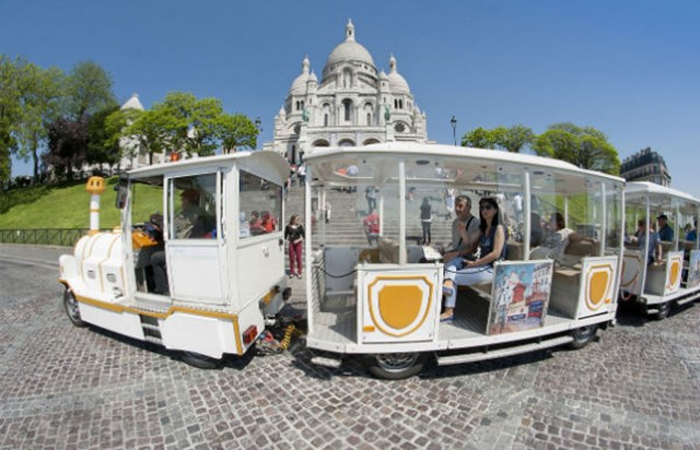 Petit train montmartre visite guid e office de tourisme de paris - Office du tourisme italien paris horaires ...