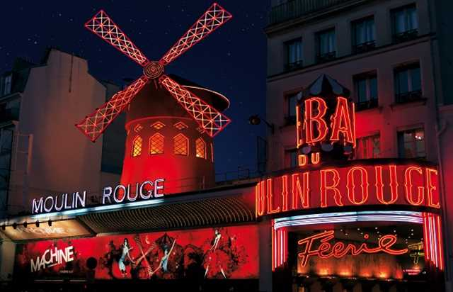 Moulin rouge d ner spectacle revue f erie r servation office de tourisme de paris - Le port du moulin champtoceaux ...