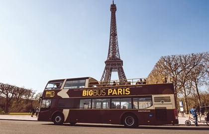 Big Bus Paris - Bus Touristique