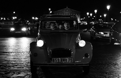 Balade en 2CV : Special Paris by Night