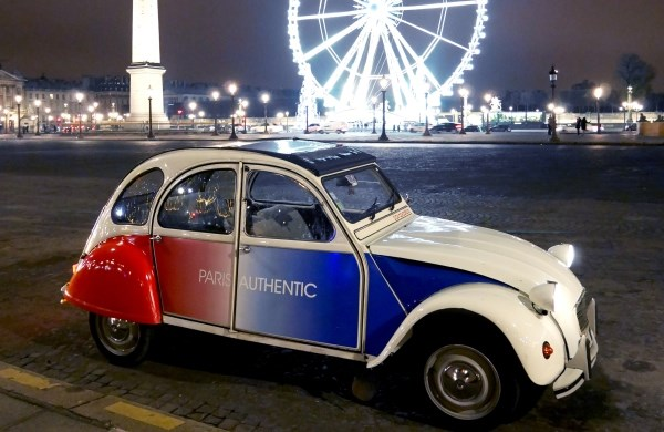 Paris en 2CV - Paris Authentic