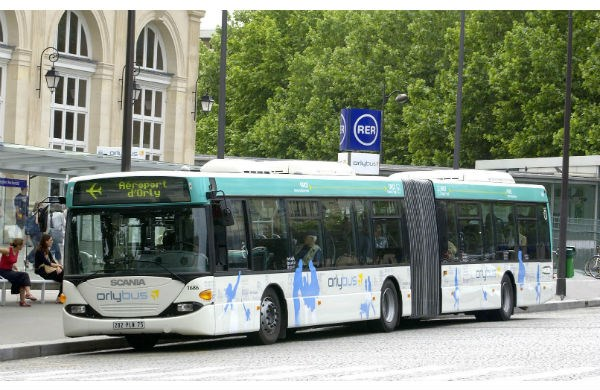 Transferts aéroports Paris - Orlyval - Orlybus - Roissybus - RER B