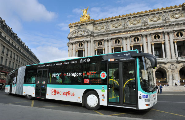 Paris airport access - RoissyBus - OrlyBus - OrlyVal - RER B