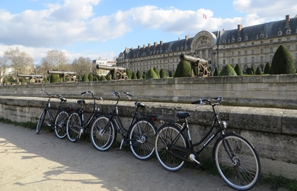 "Tour à vélo ""Paris Secret"""
