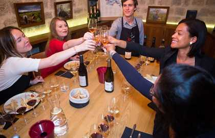 The Ultimate Tasting Class aux Caves du Louvre